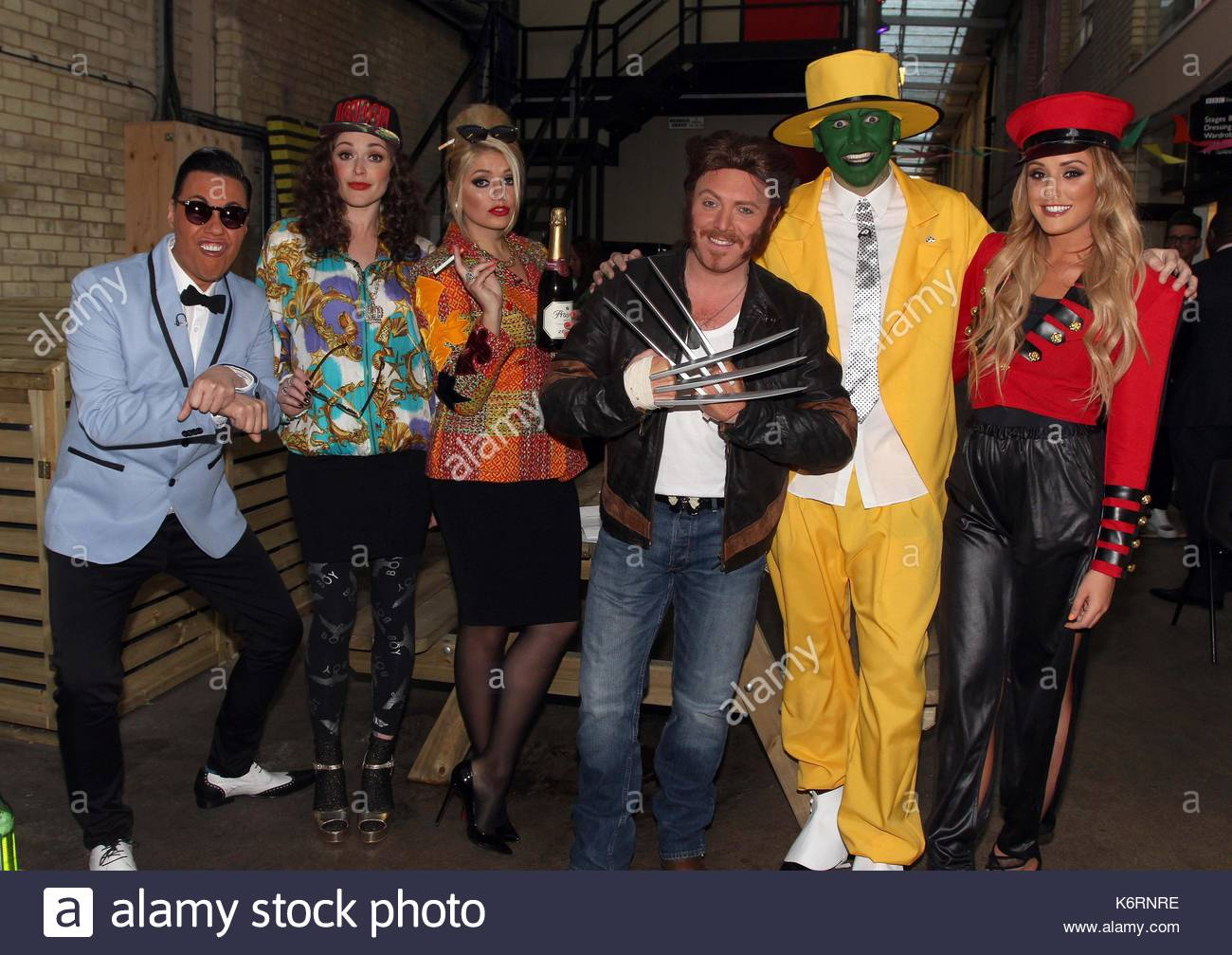 Celebrity juice holly mask