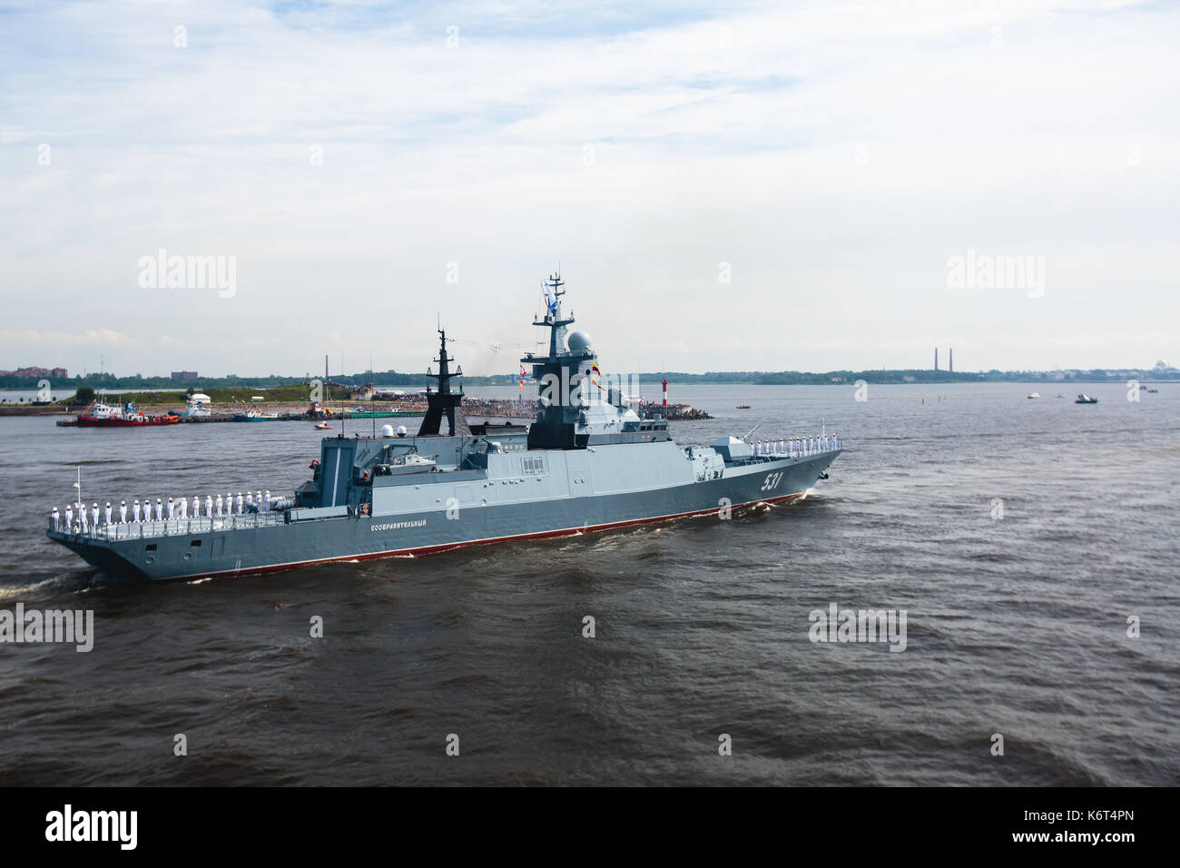 Baltic Fleet Russian Navy Stock Photos & Baltic Fleet ...