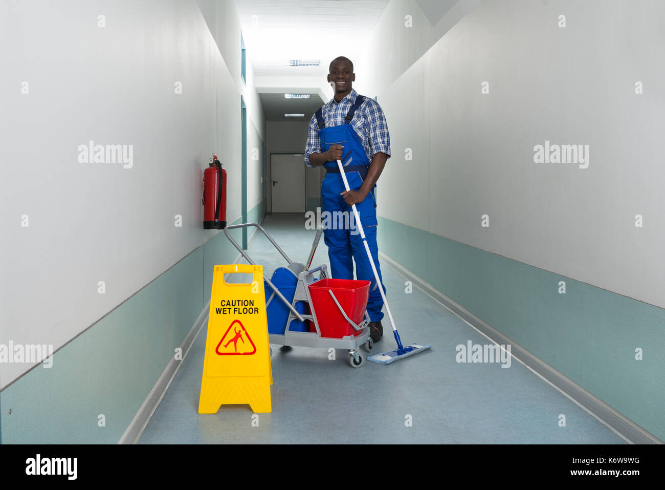 Wet Floor Accident Stock Photos Amp Wet Floor Accident Stock