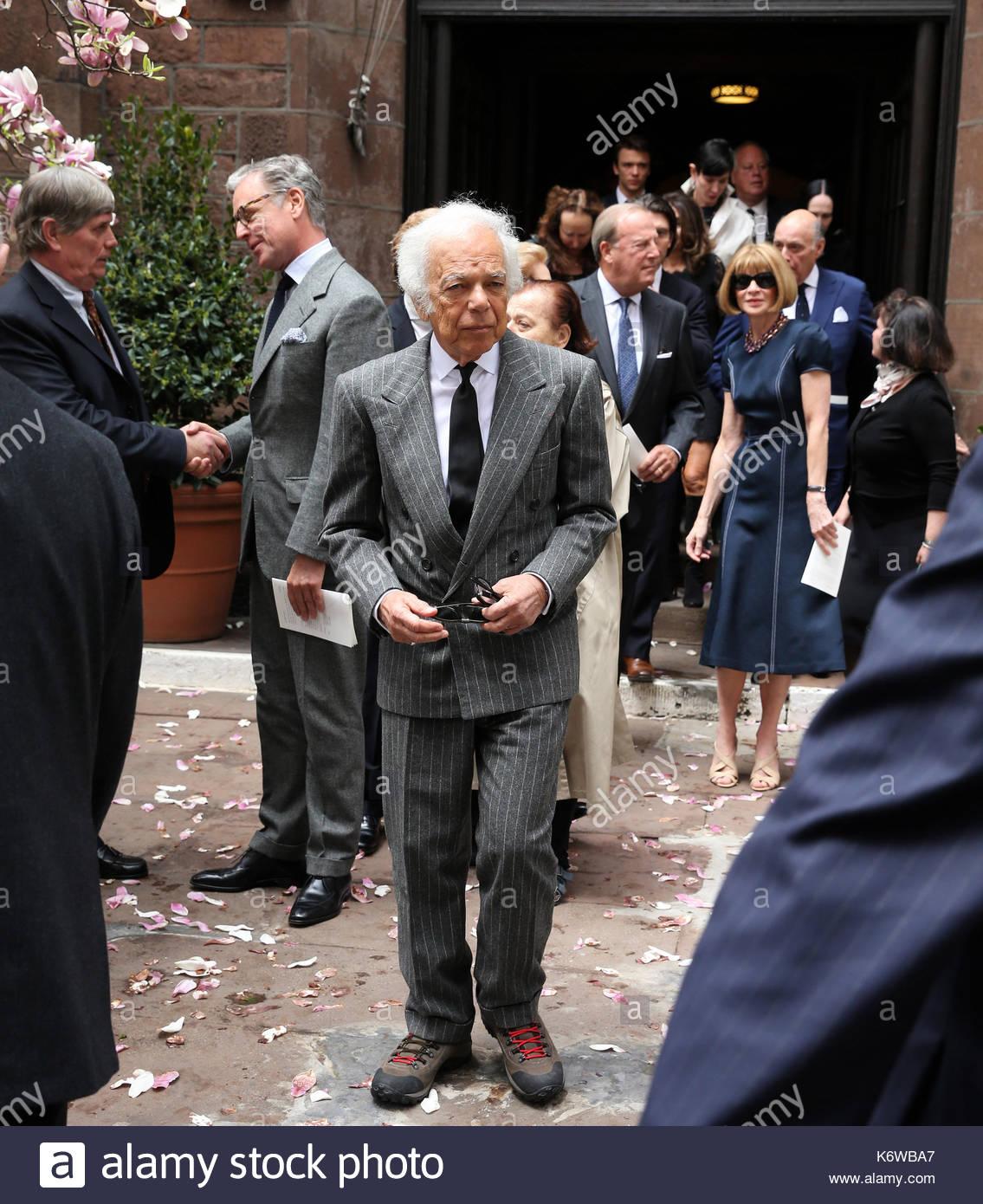 Ralph Lauren Fashion Designer | Ralph Lauren And Anna Wintour Fashion Designer Ralph Lauren Attends