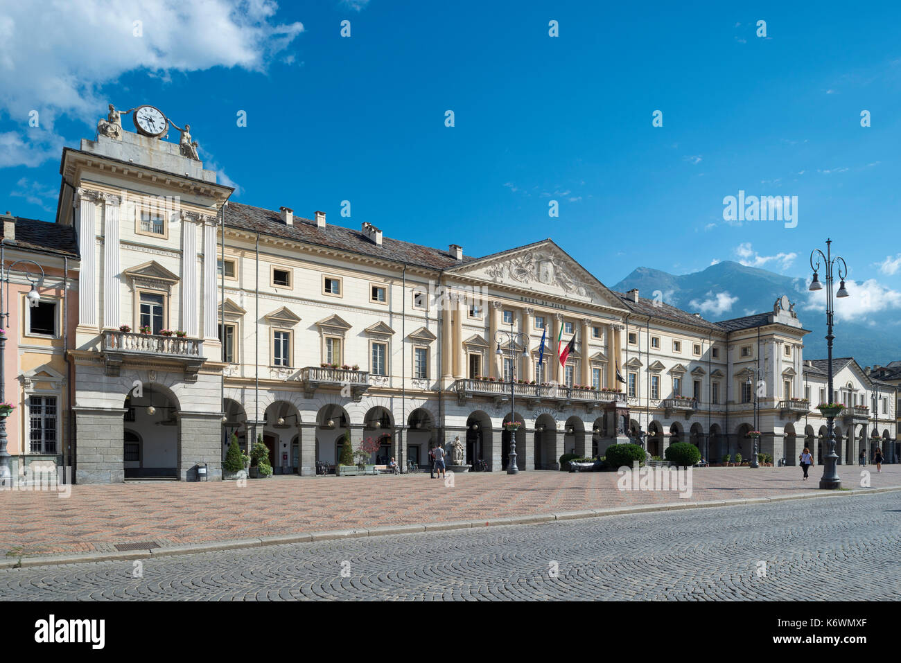 Neoclassicism stock photos neoclassicism stock images for Design hotel valle d aosta