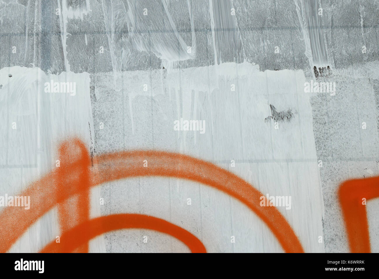 Graffiti spray painted on white stock photos graffiti for Paint for glass surfaces