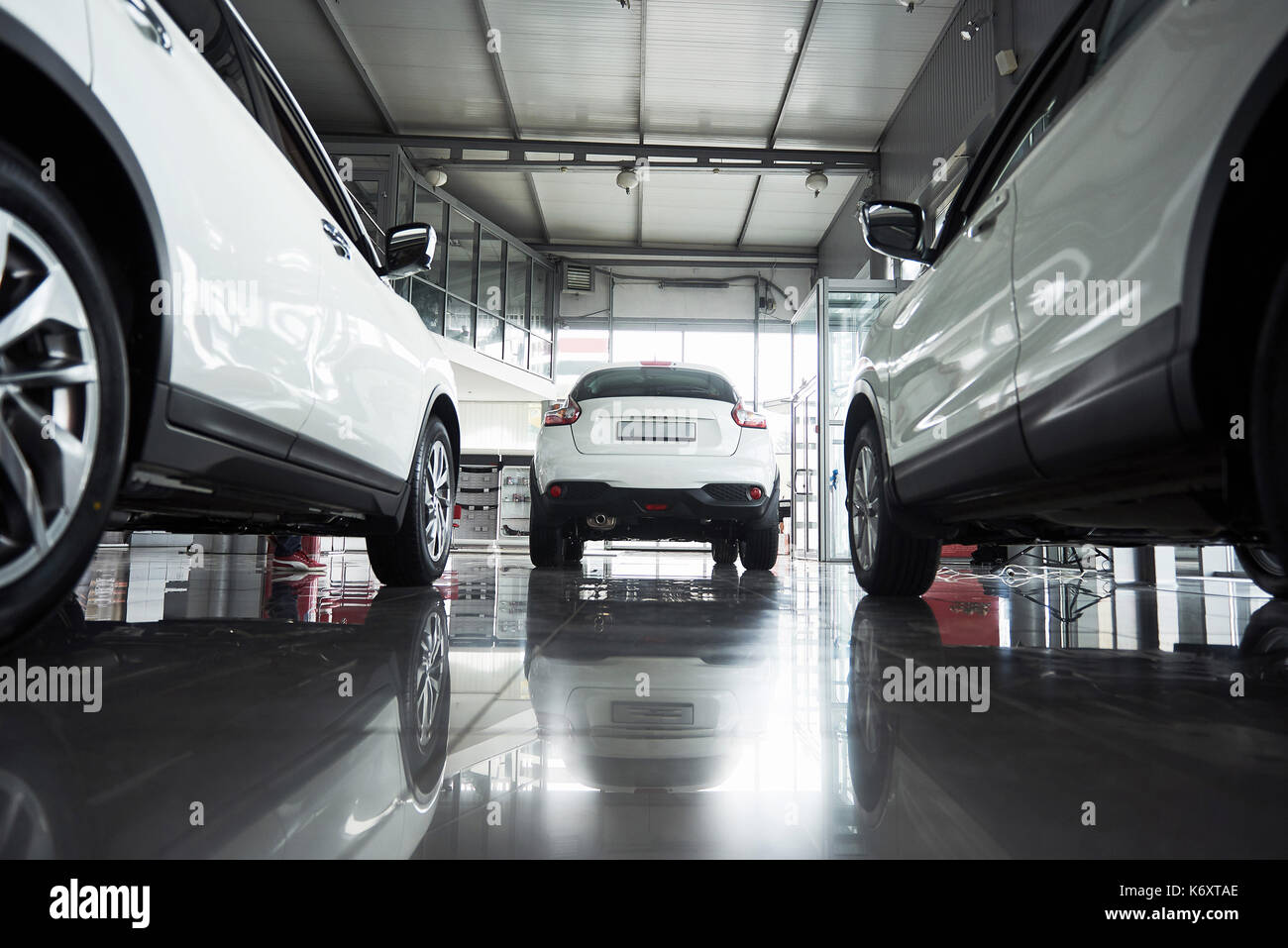 Car sales, marketplace, shot at wide angle Stock Photo, Royalty ...