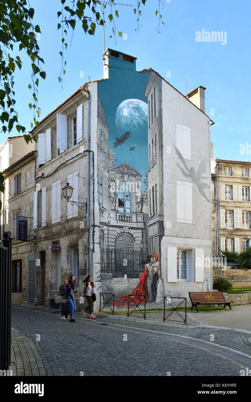 Angouleme Mural Stock Photos Angouleme Mural Stock