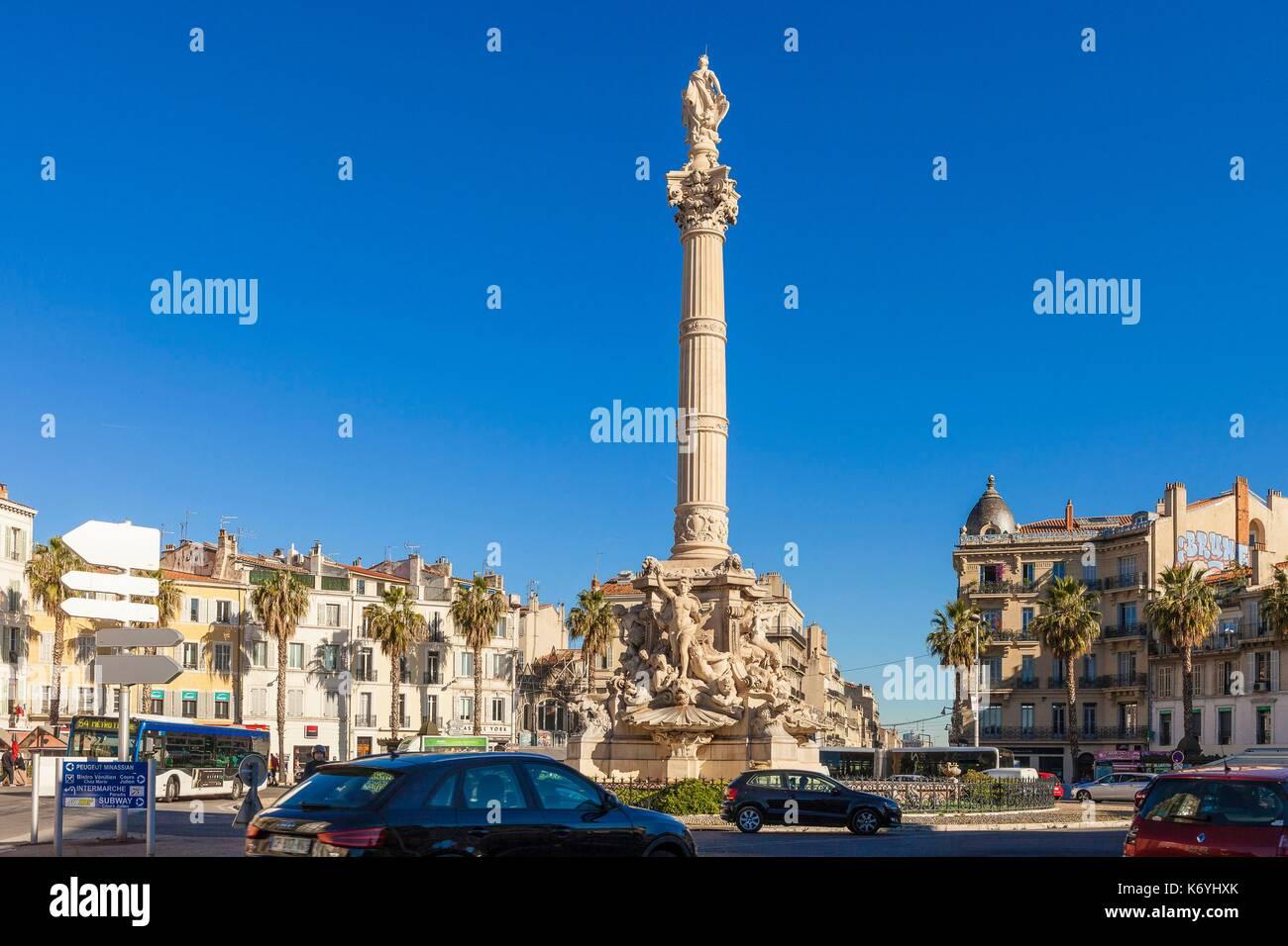 Cantini fountain marseille france stock photos cantini for Rhone marseille