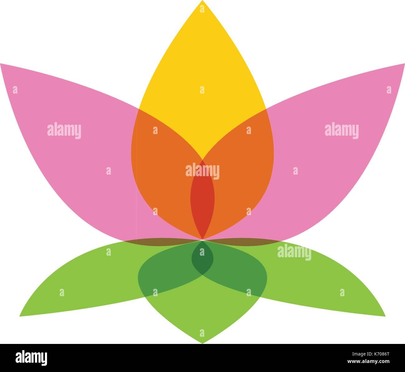 Vector Logo Template Lotus Flower Stock Photos Amp Vector