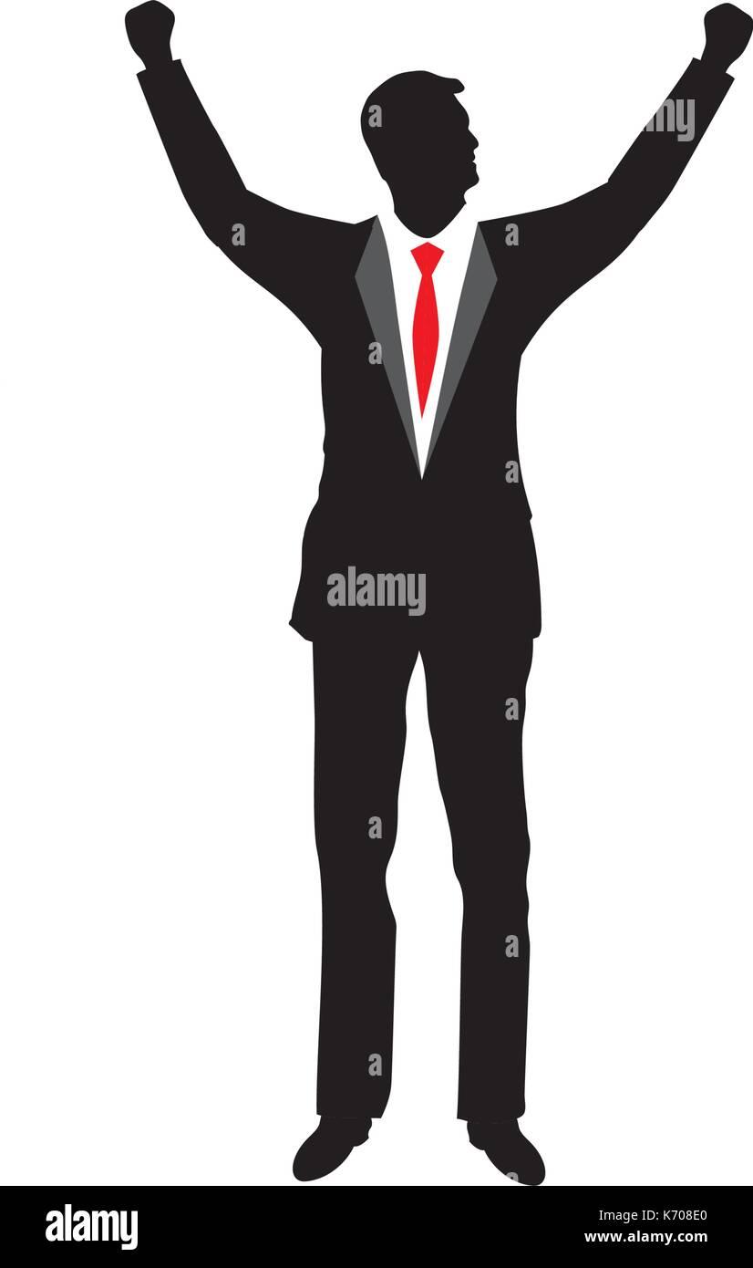 businessman silhouette icon vector illustration design stock vector