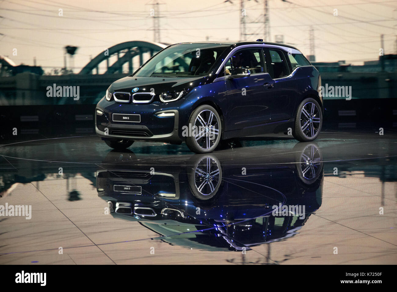 2018 bmw electric.  2018 frankfurt germany 13th sep 2017 new 2018 bmw i3 electric car presented  at the frankfurt iaa motor show credit jlbvdwolfalamy live news to bmw