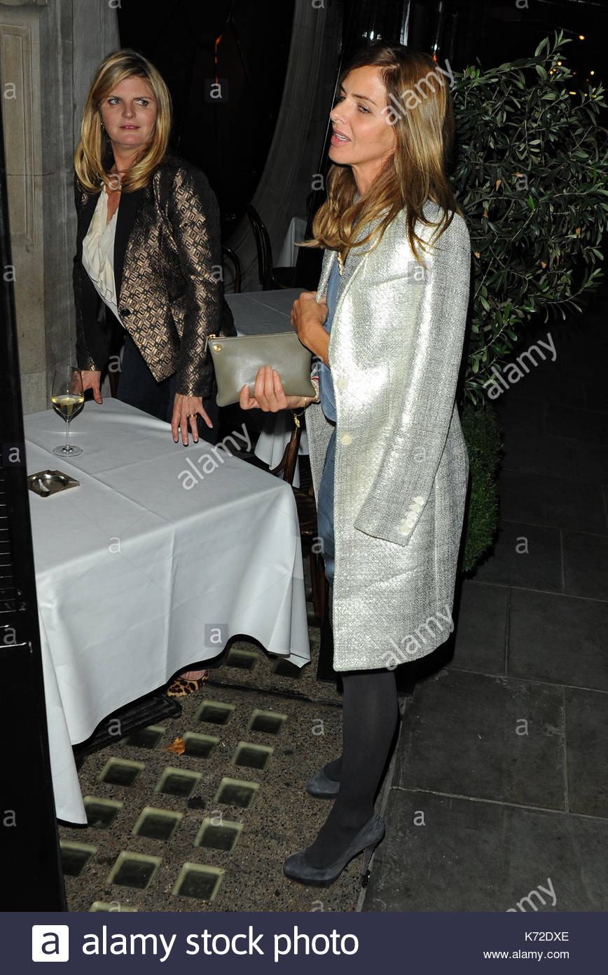 Trinny Woodall Smoking