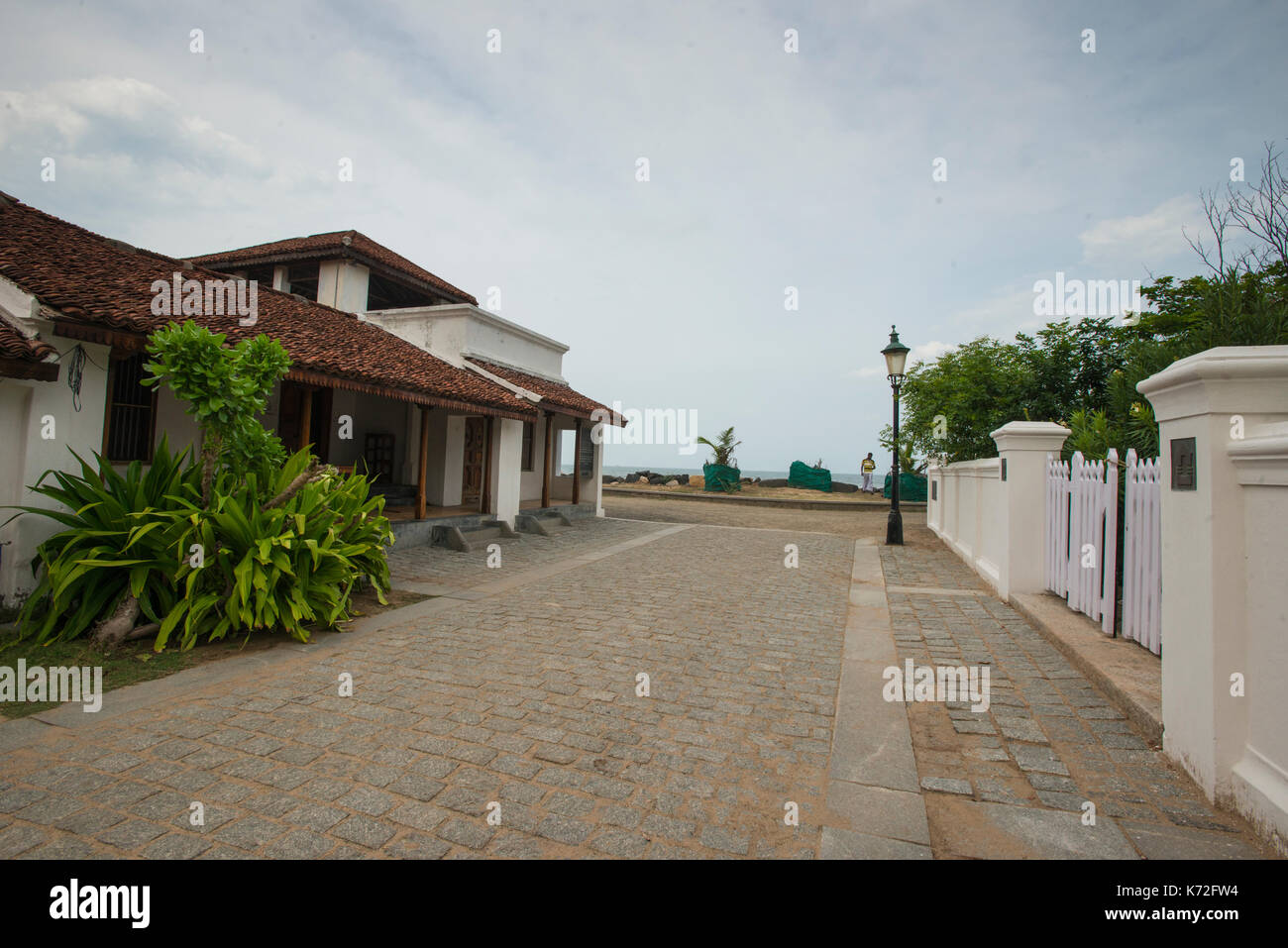 Charming Colonial Bungalows Renovated At Goldsmith Street In Tranquebar Tamil Nadu India
