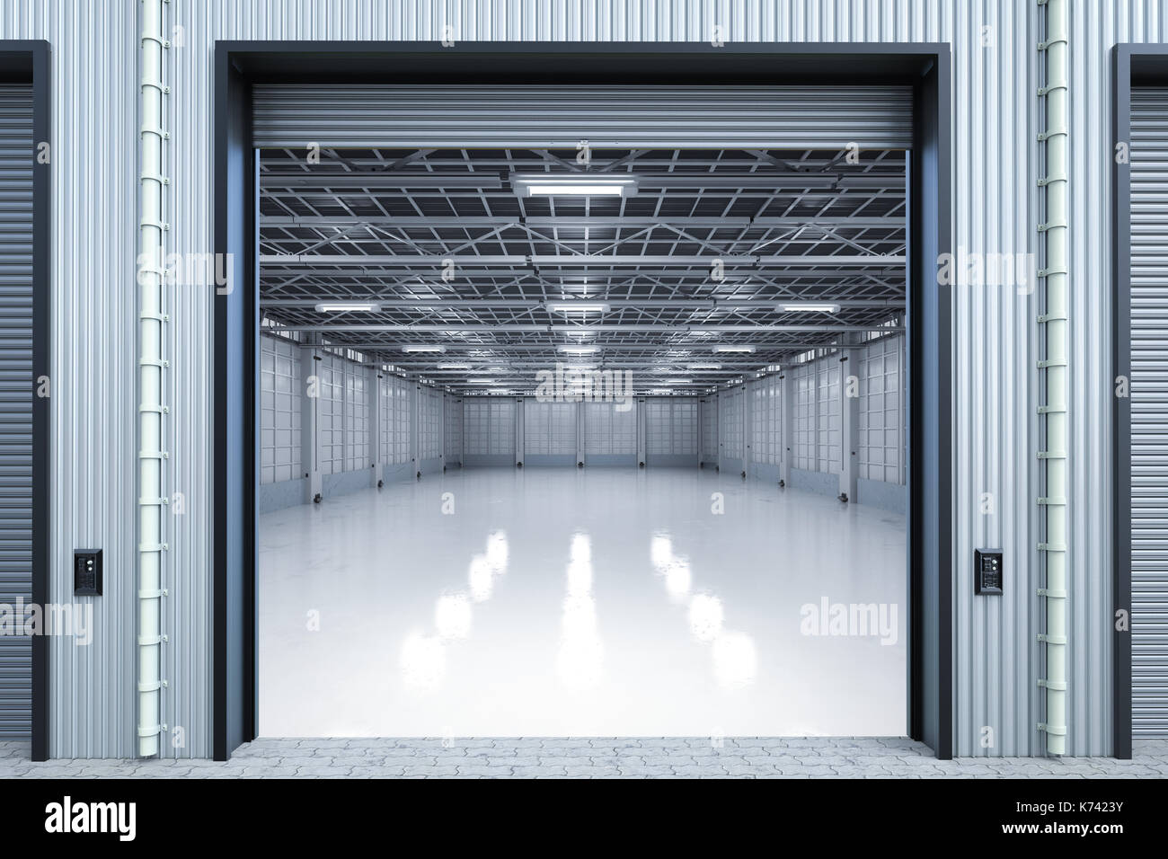 Internal warehouse stock photos internal warehouse stock for Door 3d warehouse