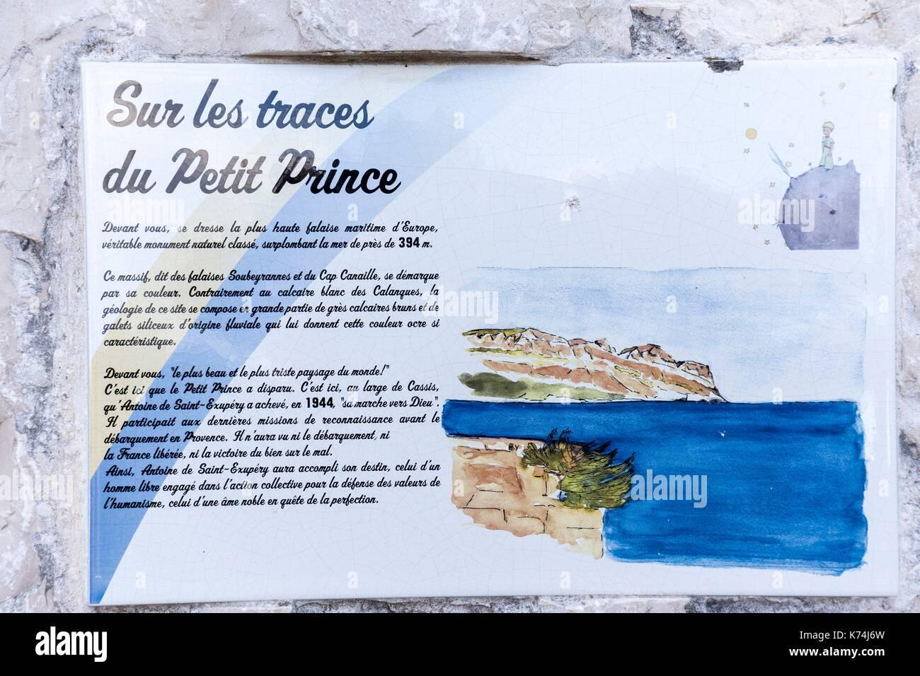 Antoine de saint exupery stock photos antoine de saint for Info regionale bouche du rhone