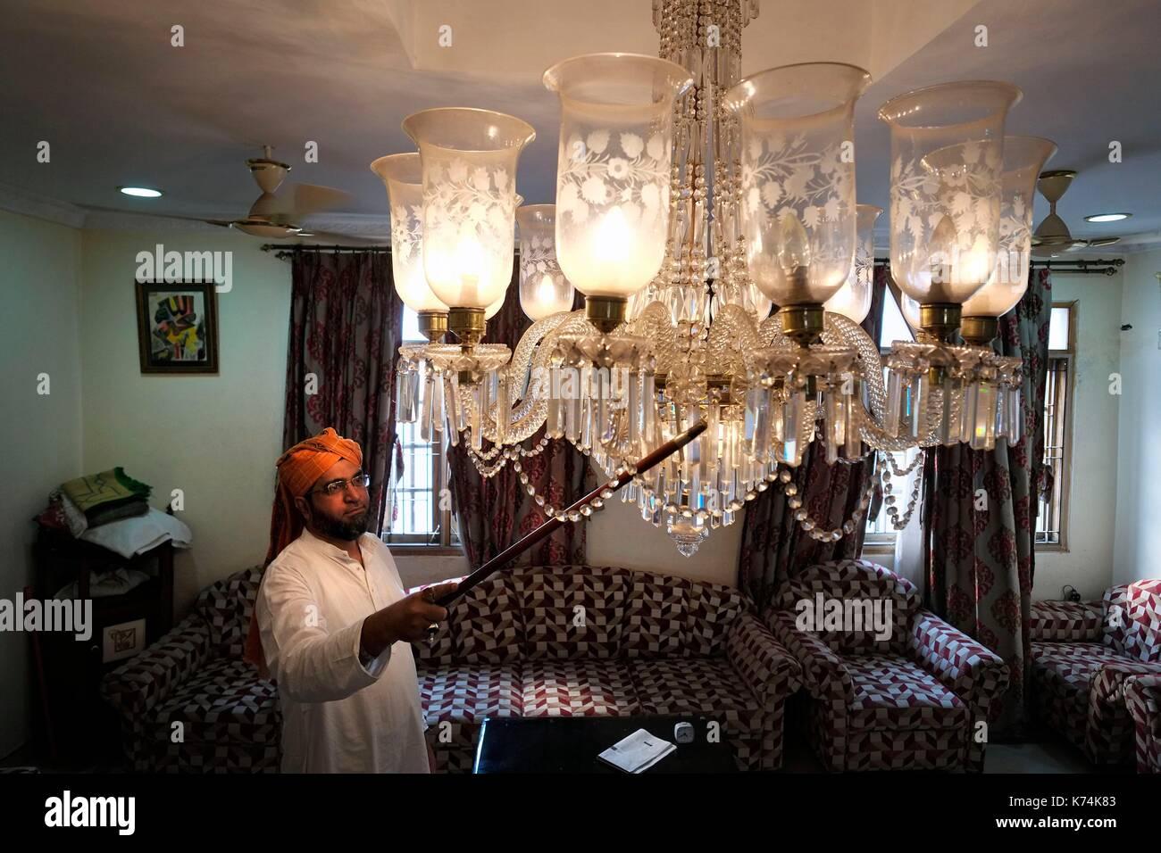 India, Telangana, Hyderabad, at Moudji\'s house filled with Belgian ...