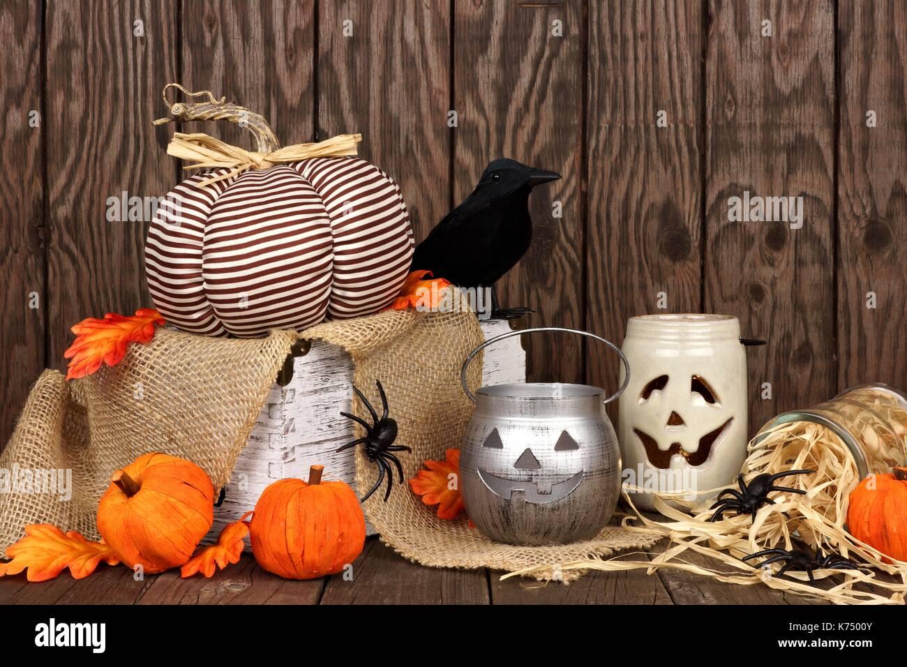 Wooden Halloween Decorations