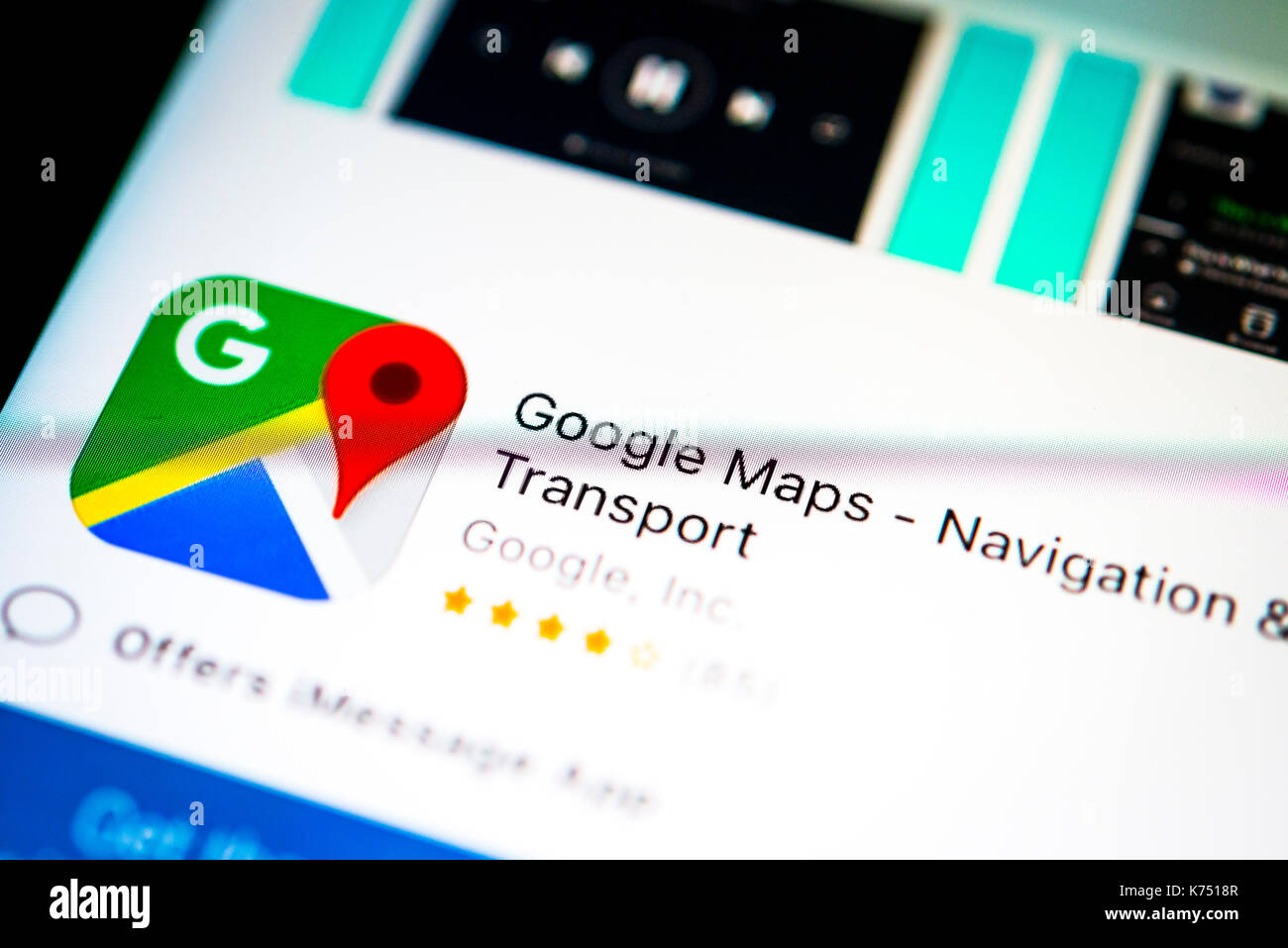 Google Maps App in the Apple App Store, navigation, app icon ... on ios store, windows 8 store, map search, google store, map google, map app talk, iphone store, map my walk app, map bing, map weather, map design, map pins app,