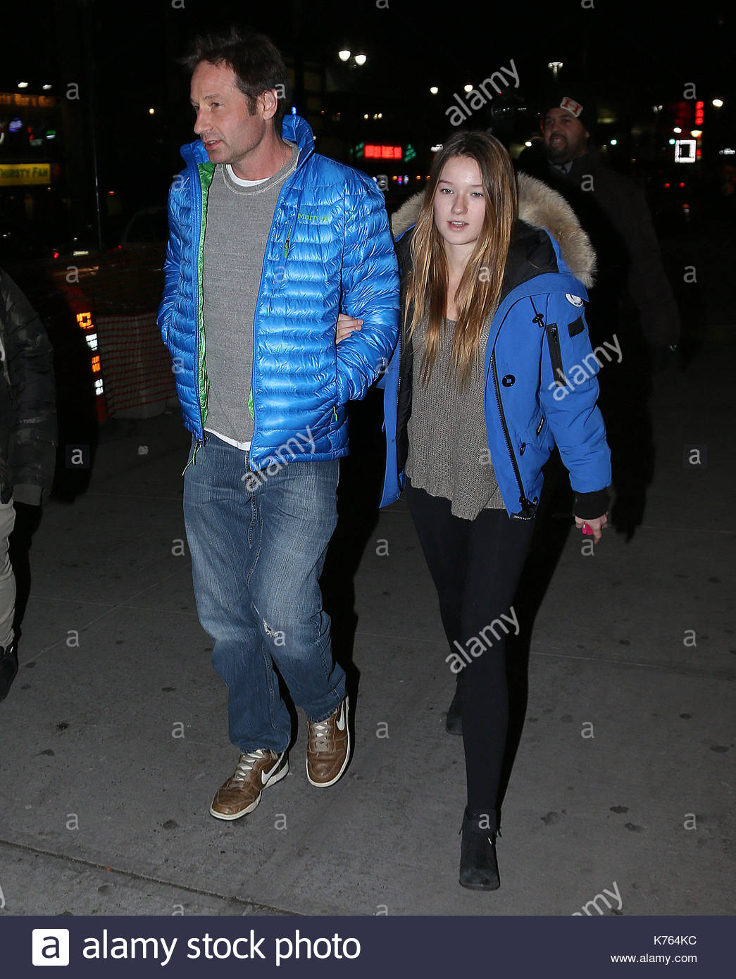 David Duchovny and Madelaine West Duchovny. David Duchovny ...