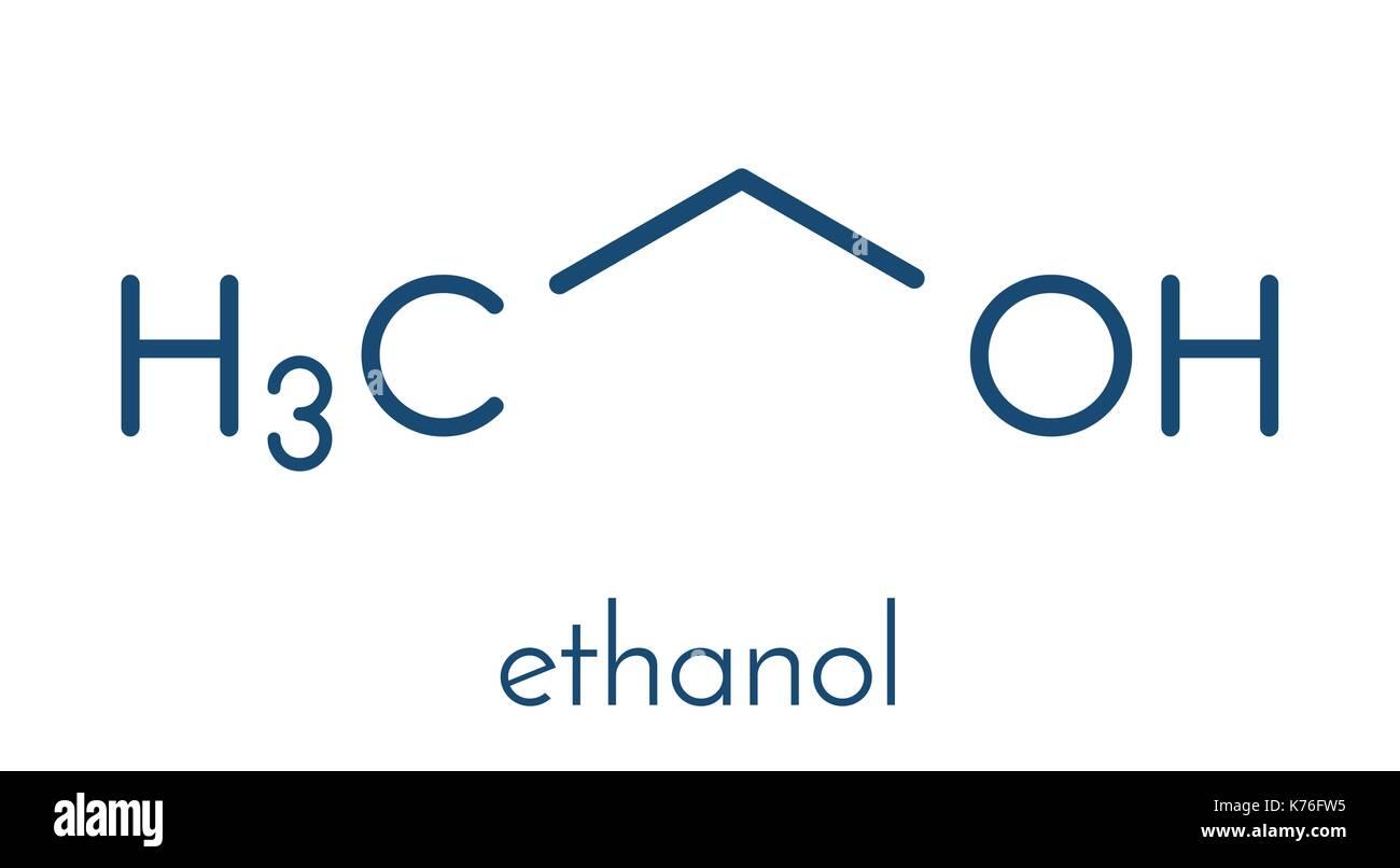 Ethanol fermentation of wine stock photos ethanol fermentation alcohol ethanol ethyl alcohol molecule chemical structure skeletal formula buycottarizona