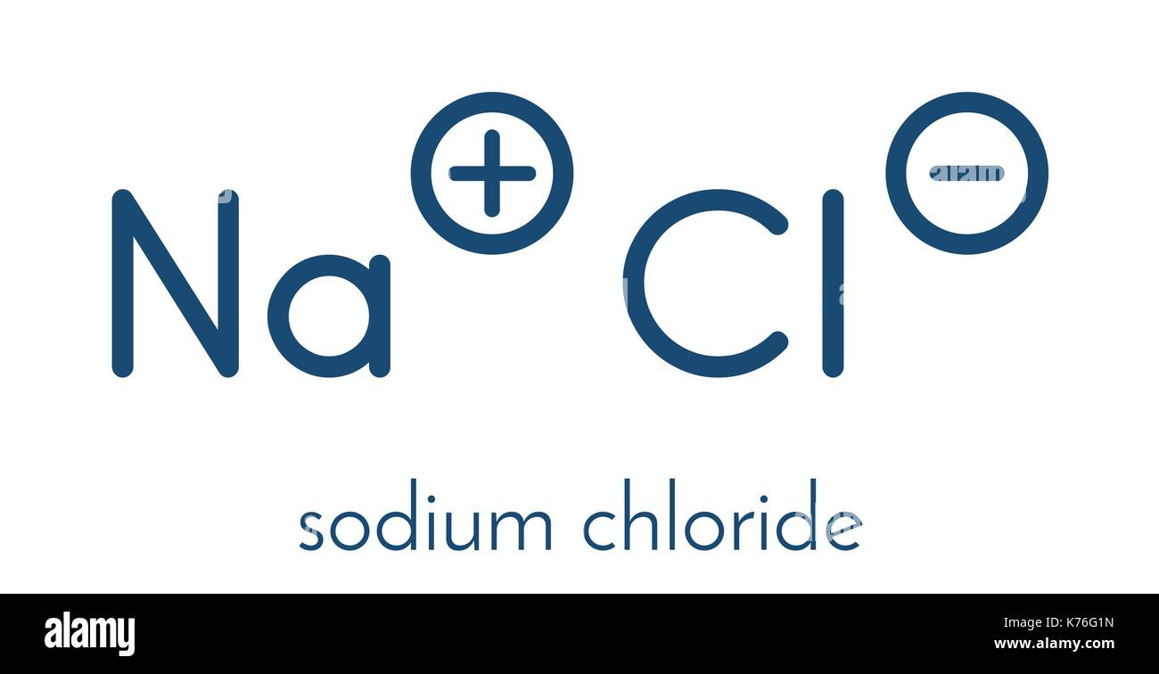 Chlorine atomic structure stock photos chlorine atomic structure sodium chloride rock salt halite table salt chemical structure biocorpaavc