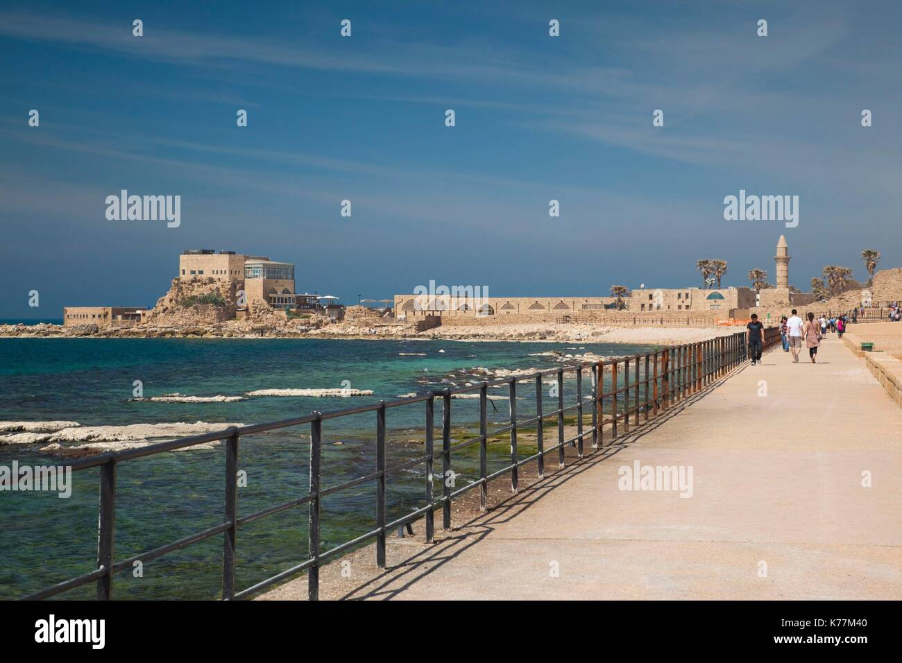 Caesarea port stock photos caesarea port stock images for How much does a fishing license cost in texas