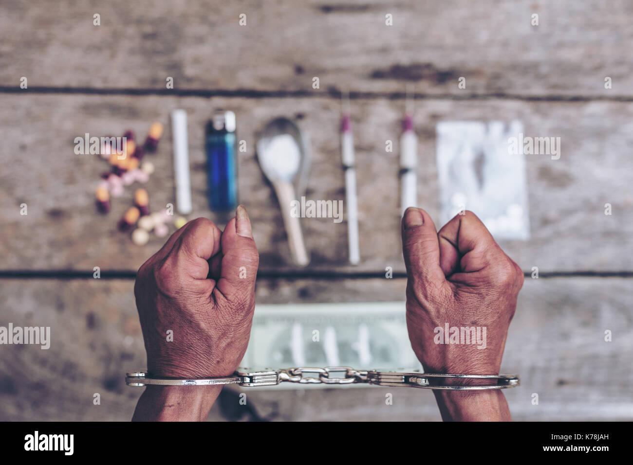 addiction and crime