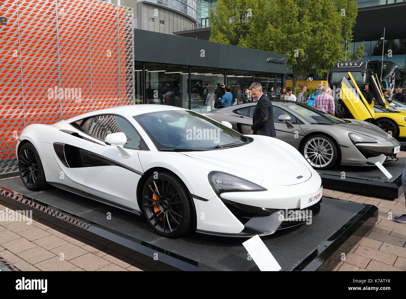 Frankfurt, Germany. 15th Sep, 2017. Car Manufacturers From All Over The  World