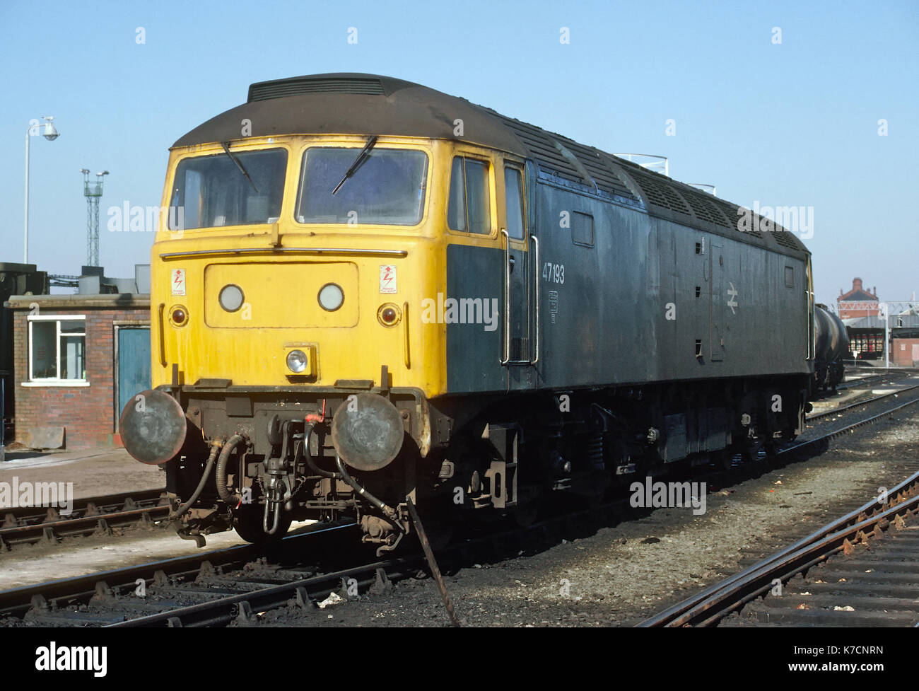 Railway 1986 stock photos railway 1986 stock images alamy for Depot bergedorf