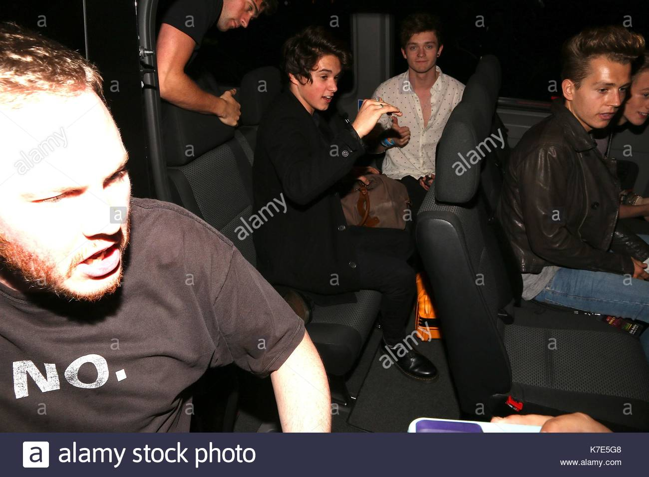 Bradley Simpson Connor Ball And James Mcvey R5 And The Vamps Seen