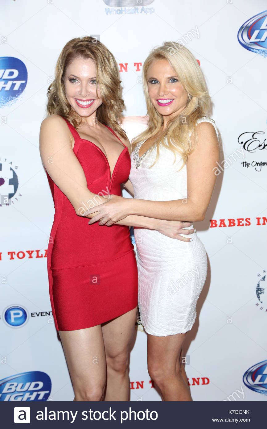 Erika Jordan And Jacqui Holland 7th Annual Babes In Toyland Charity Toy Drive In Hollywood Ca