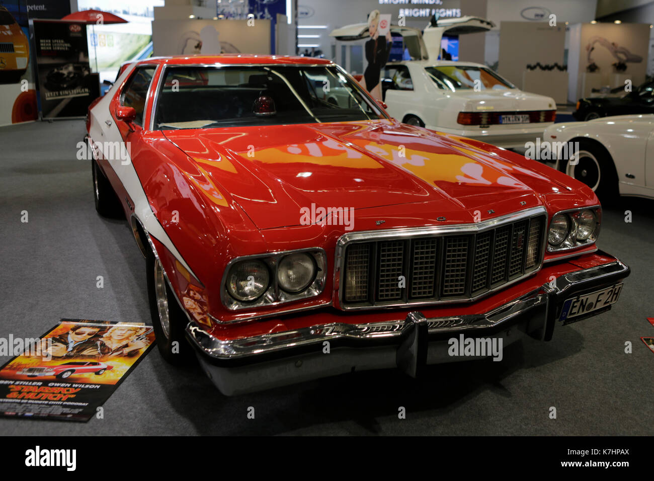 ford gran torino starsky hutch stock photos ford gran torino starsky hutch stock images alamy. Black Bedroom Furniture Sets. Home Design Ideas