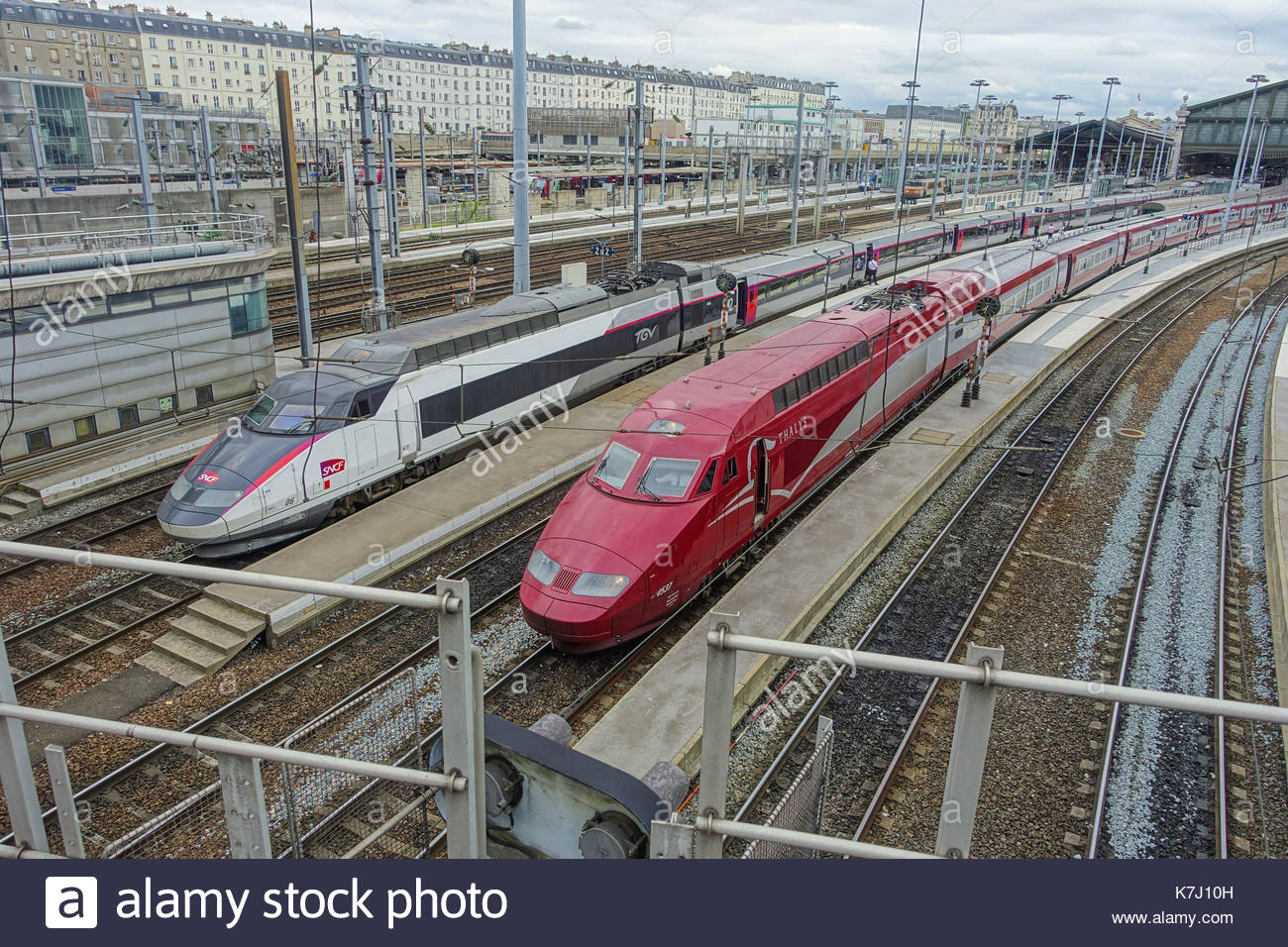 tgv french bullet train stock photos tgv french bullet train stock images alamy. Black Bedroom Furniture Sets. Home Design Ideas