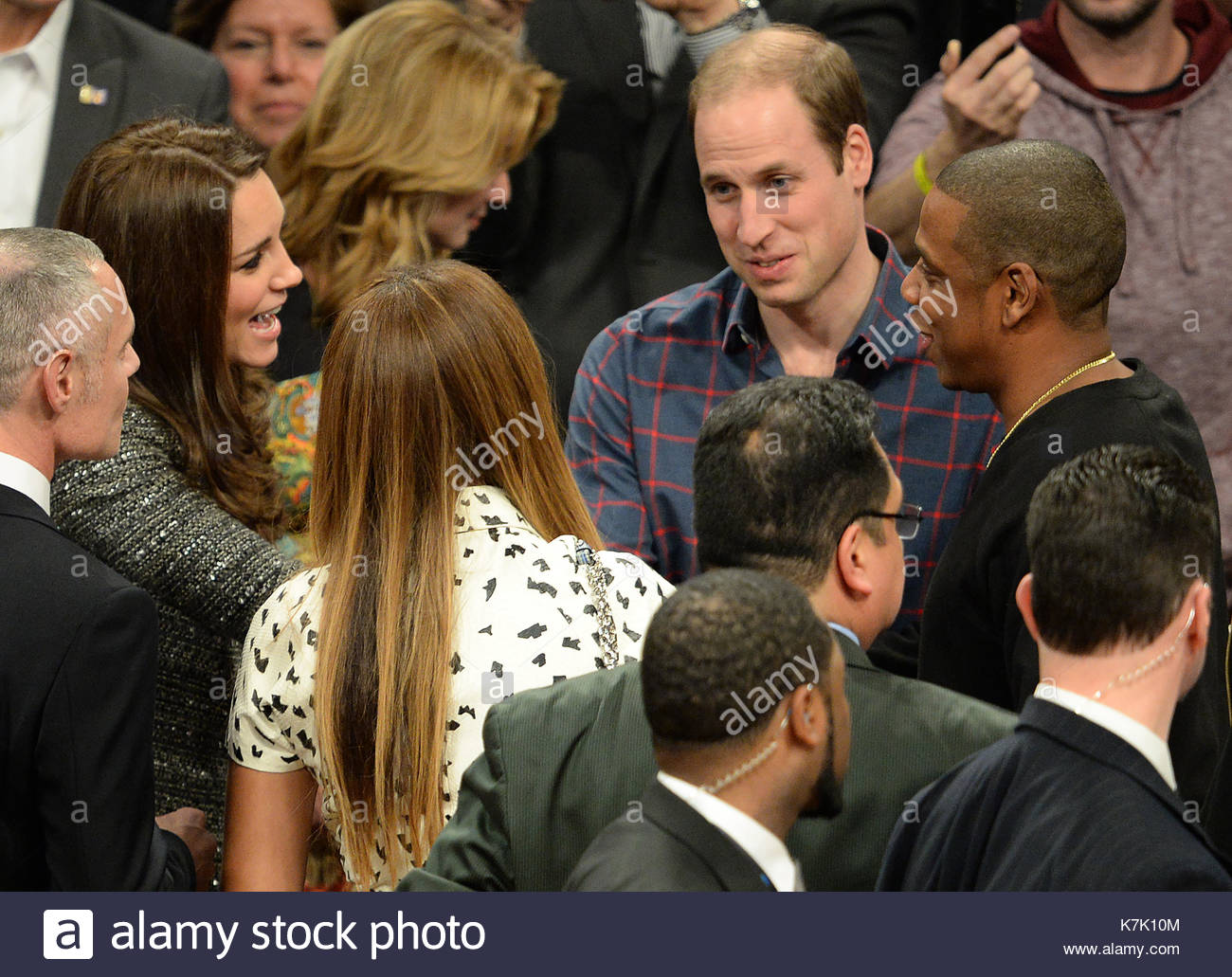 Catherine Duchess Of Cambridge Beyonce Prince William And Jay Z
