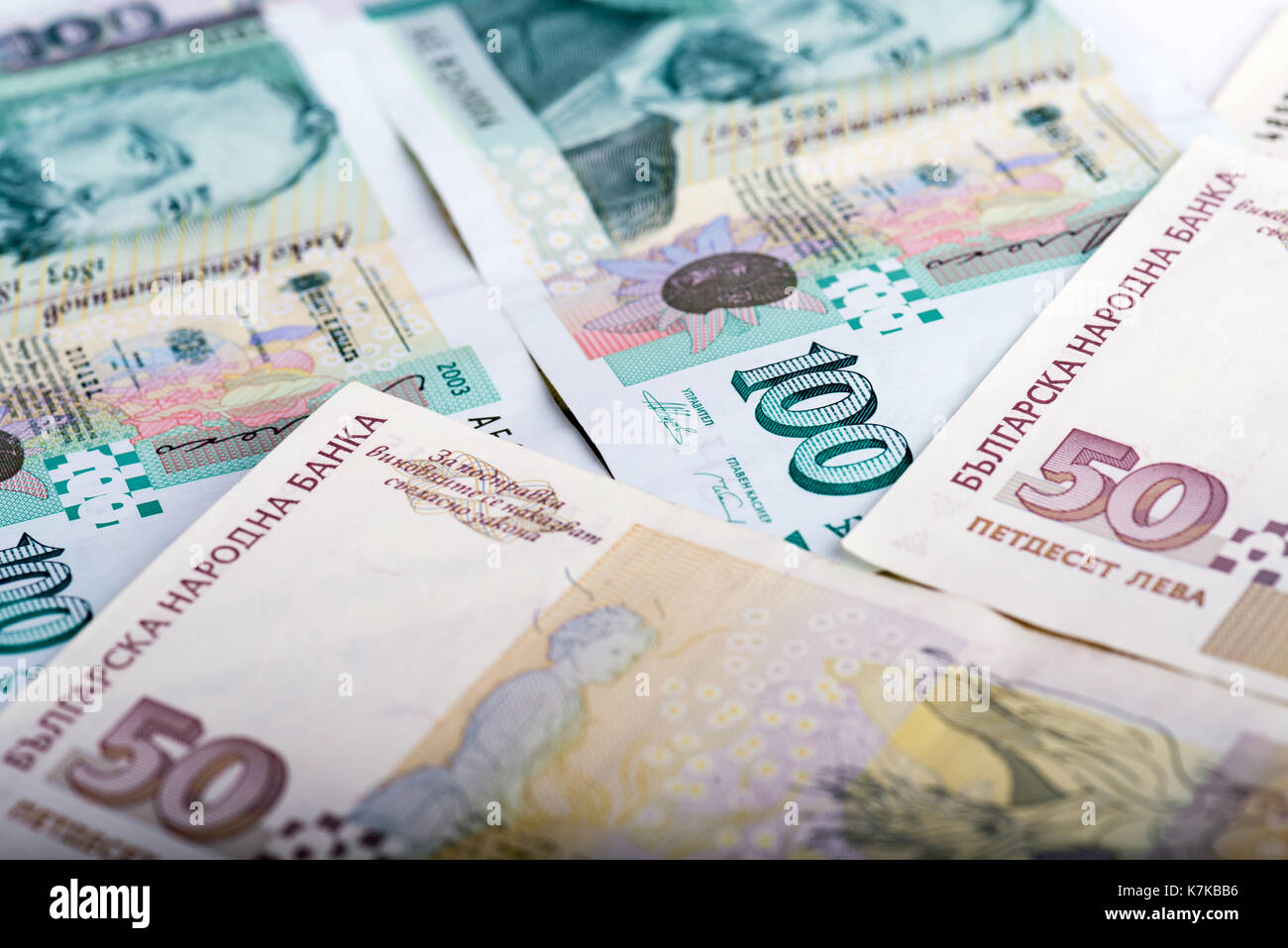 100 bgn stock photos 100 bgn stock images alamy close up of bulgarian money bgn bills of 50 and 100 levs biocorpaavc