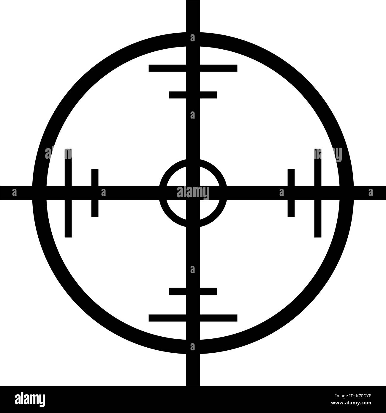 Crosshair target vector symbol icon design beautiful illustration crosshair target vector symbol icon design beautiful illustration isolated on white background buycottarizona Image collections