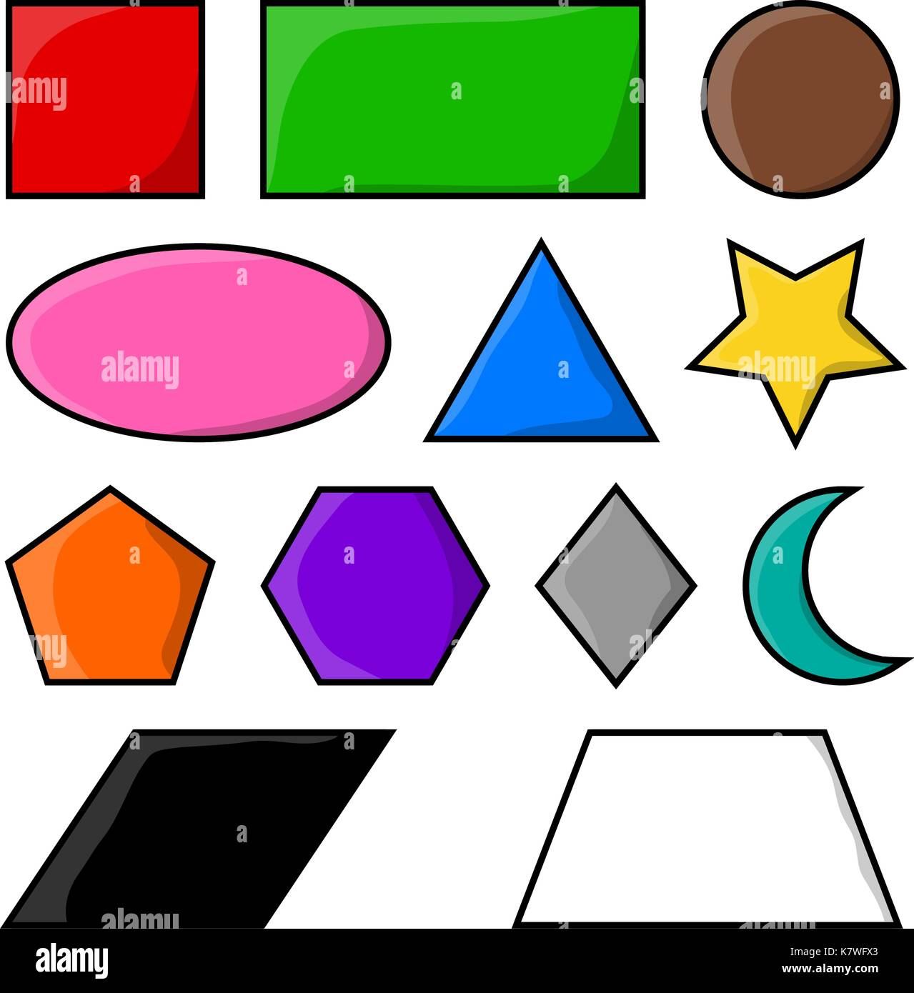 Geometric shapes square circle oval triangle hexagon geometric shapes square circle oval triangle hexagon rectangle starheartrhombus vector symbol icon design beautiful illustration isolated on buycottarizona
