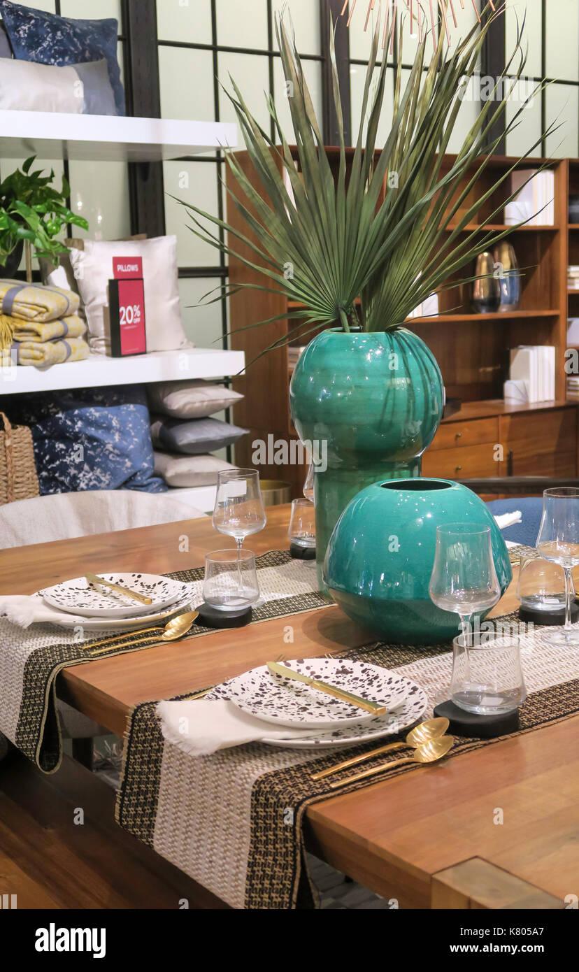 West Elm Store Contemporary Home Decor Nyc Usa Stock Photo