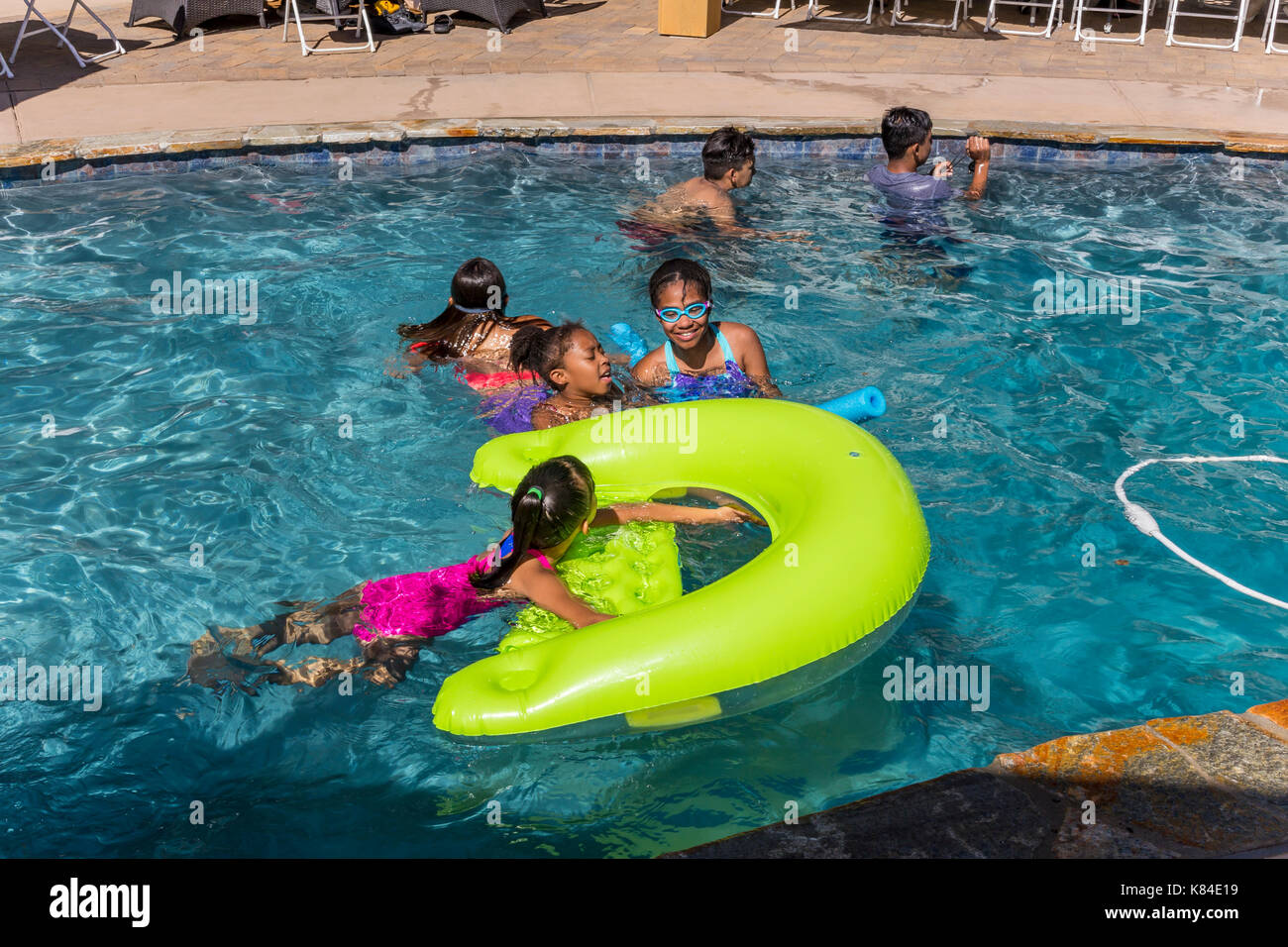 Swimming girls california people stock photos swimming girls california people stock images for What is a freshwater swimming pool