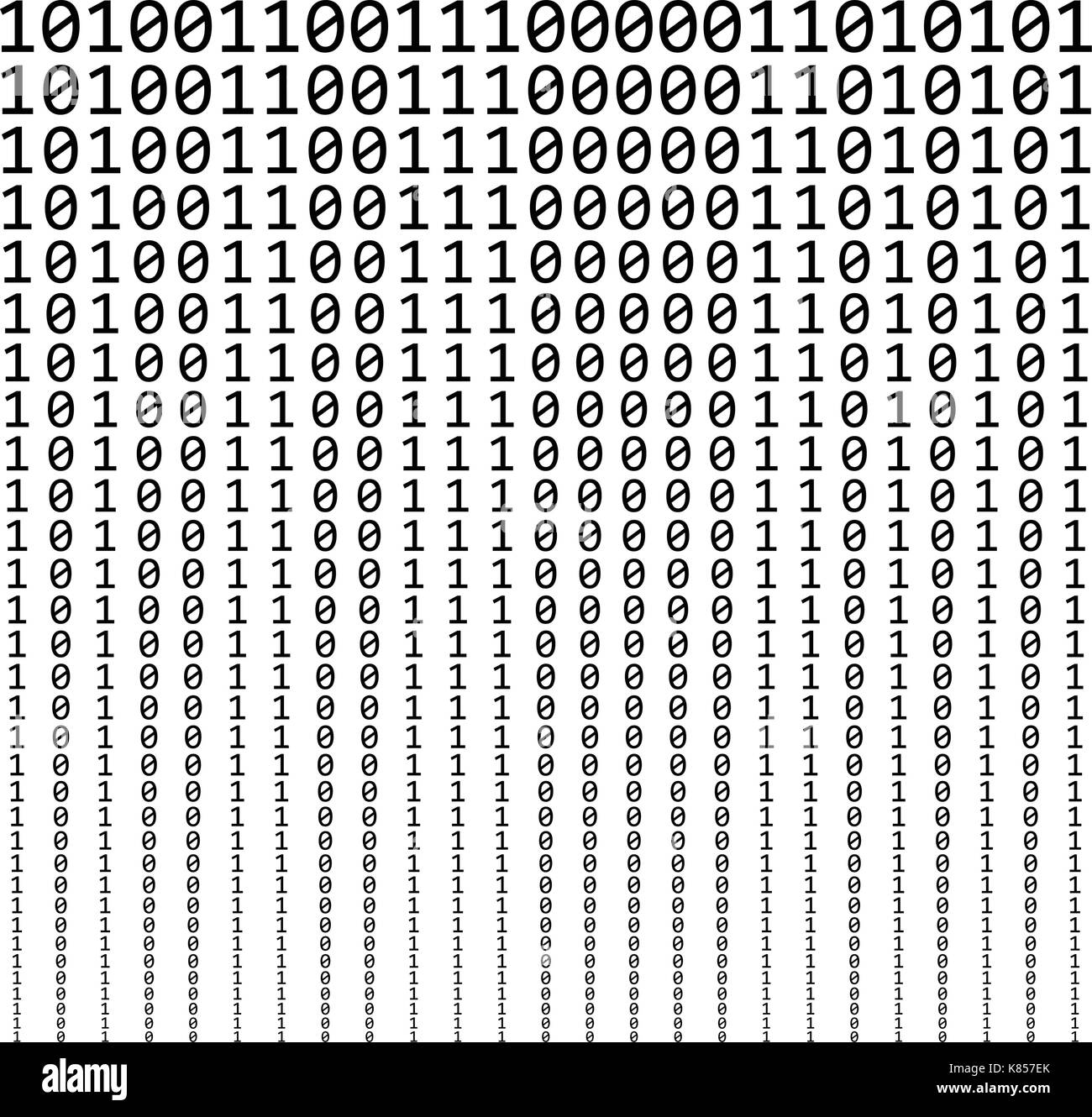 Binary code black and white stock photos images alamy binary code vector symbol icon design beautiful illustration ready to use stock image biocorpaavc Gallery