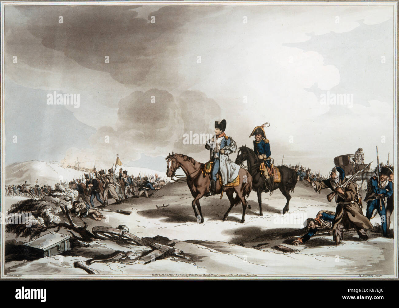 napoleon bonaparte in russia 2 december: napoleon defeats russian and austrian forces at the battle of austerlitz 26 december: napoleon signs the treaty of pressburg with austria in this treaty the defeated austrians surrender their italian territory of the region of veneto in northern italy to the french.