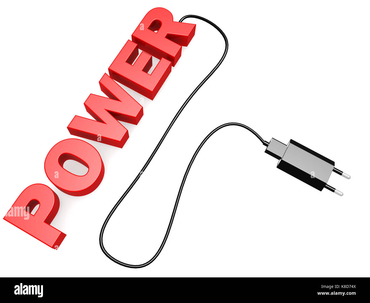 Power cord image with hi-res rendered artwork that could be used for ...