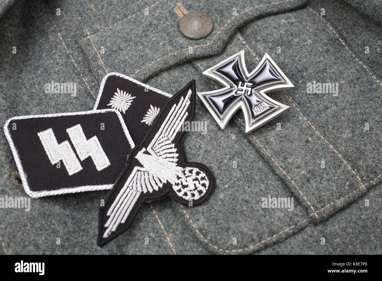 Ss division stock photos ss division stock images alamy ww2 german waffen ss military insignia stock image buycottarizona