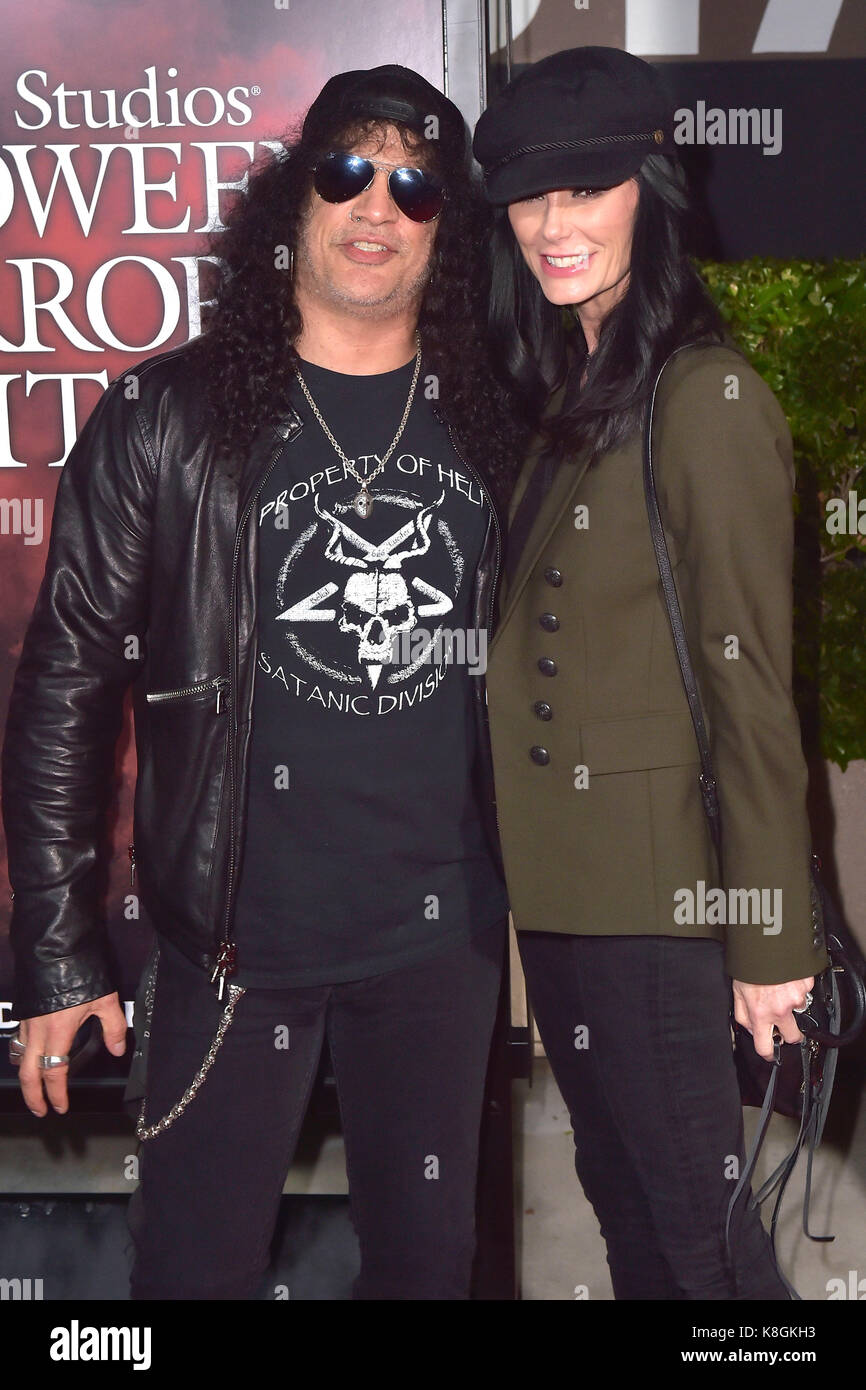 Slash (Guns n' Roses) and his girlfriend Meegan Hodges ...