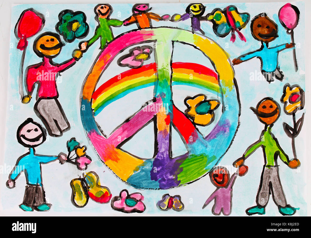 World Peace Child Draw Children Drawings Kid S Draws Collection