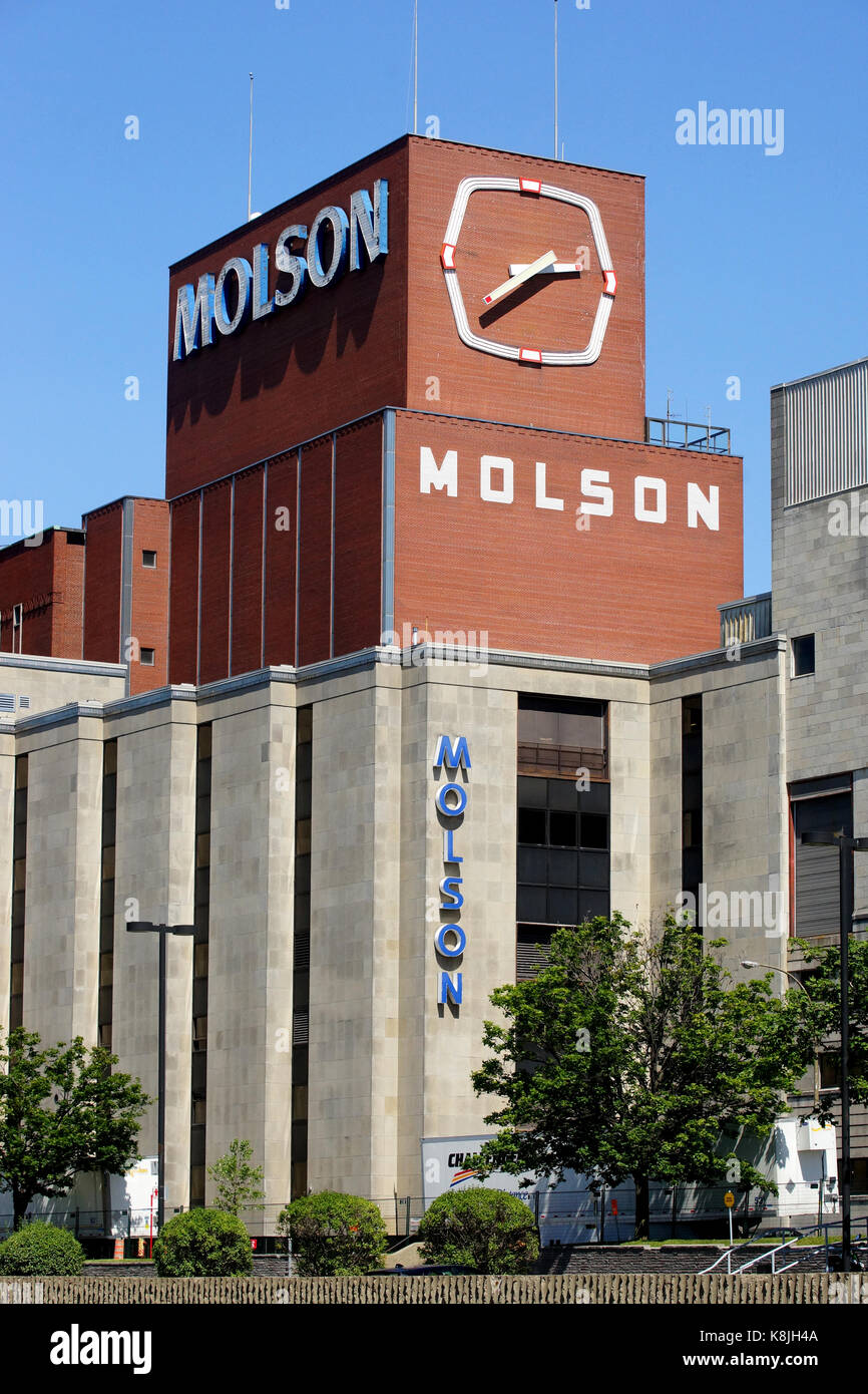 Borsod Brewery Mail: Molson Brewery Stock Photos & Molson Brewery Stock Images
