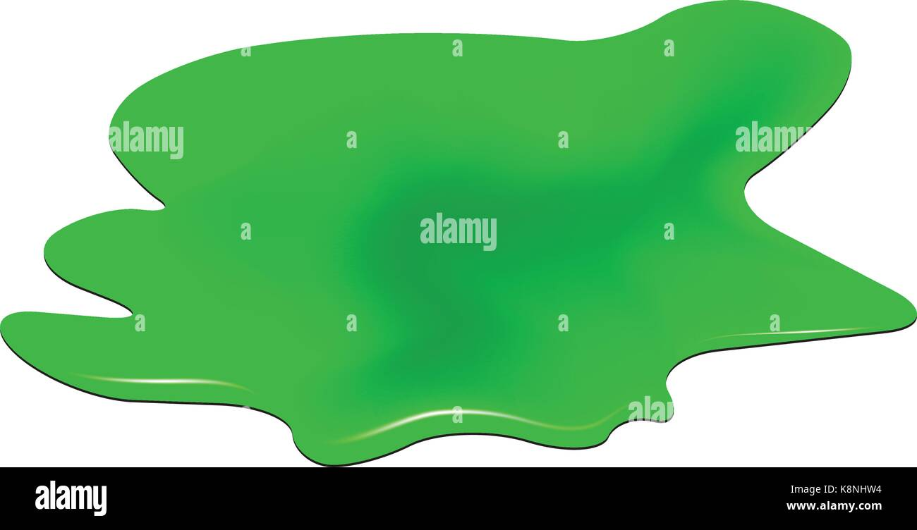 Puddle of toxic substance spill green chemical stain plash drop puddle of toxic substance spill green chemical stain plash drop vector illustration isolated on the white background biocorpaavc