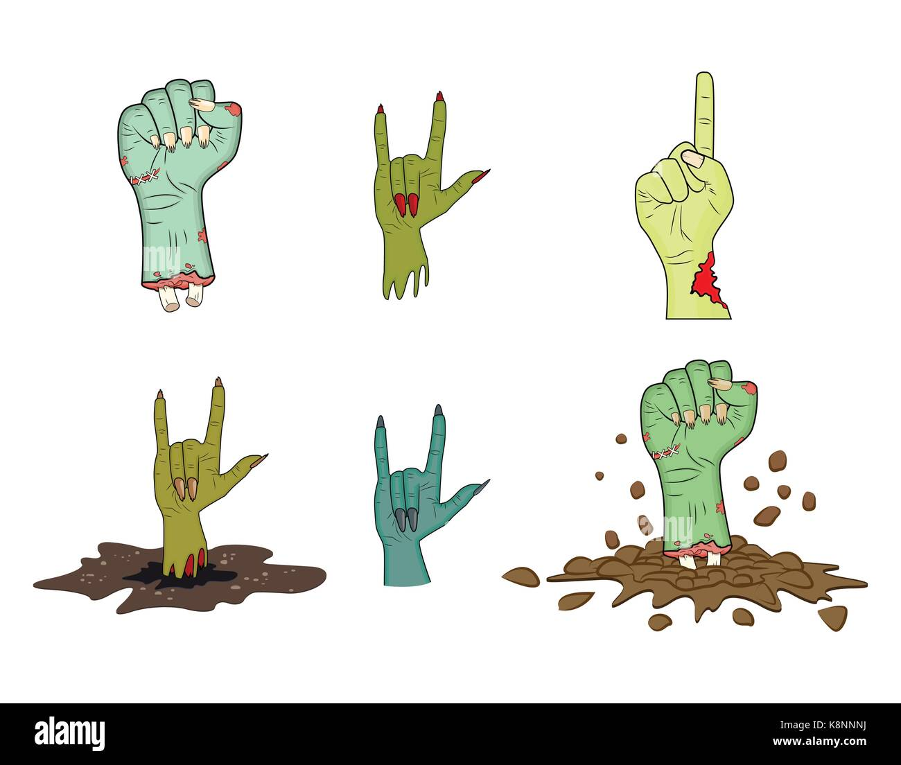 Satan vector vectors stock photos satan vector vectors stock halloween zombie hand gesture vector set realistic cartoon isolated illustration image of scary monster buycottarizona