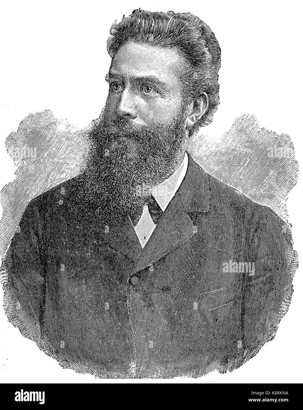 wilhelm conrad roentgen Wilhelm conrad röntgen war ein deutscher physiker und lebte von 1845 bis 1923 lebensdaten, biografie und steckbrief auf geborenam.