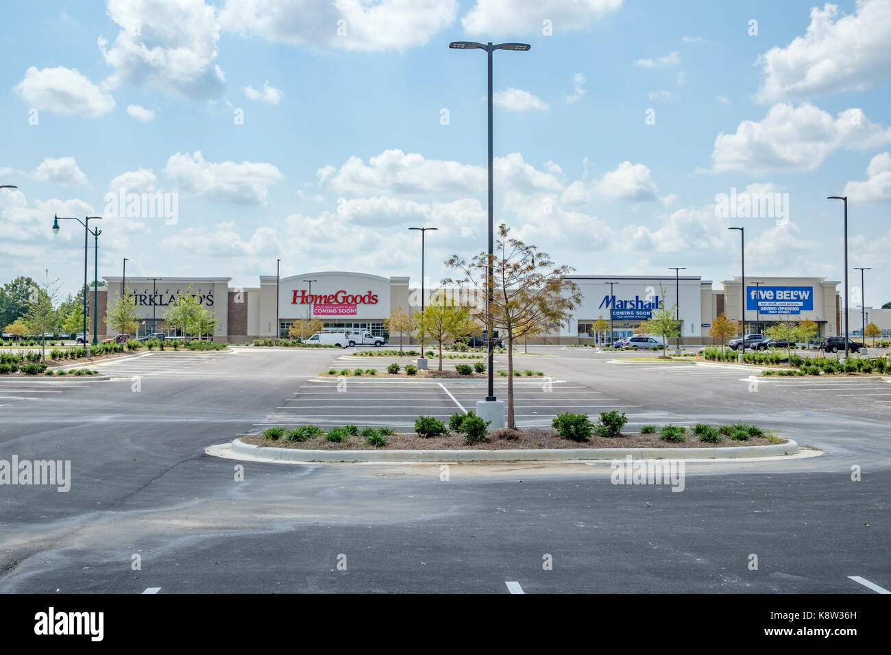 A New Shopping Center In The Eastchase Area Of Montgomery Alabama Usa Indicating An Expanding Local Economy Opening Four New Stores