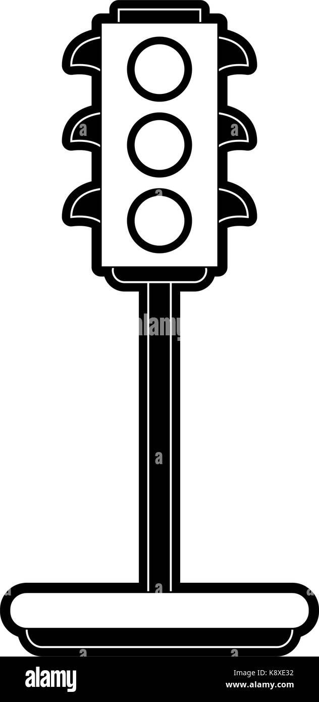 Traffic Light Icon Image
