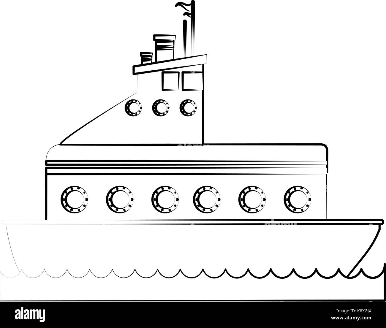 Speedboat black and white stock photos images alamy for National motor club compensation plan
