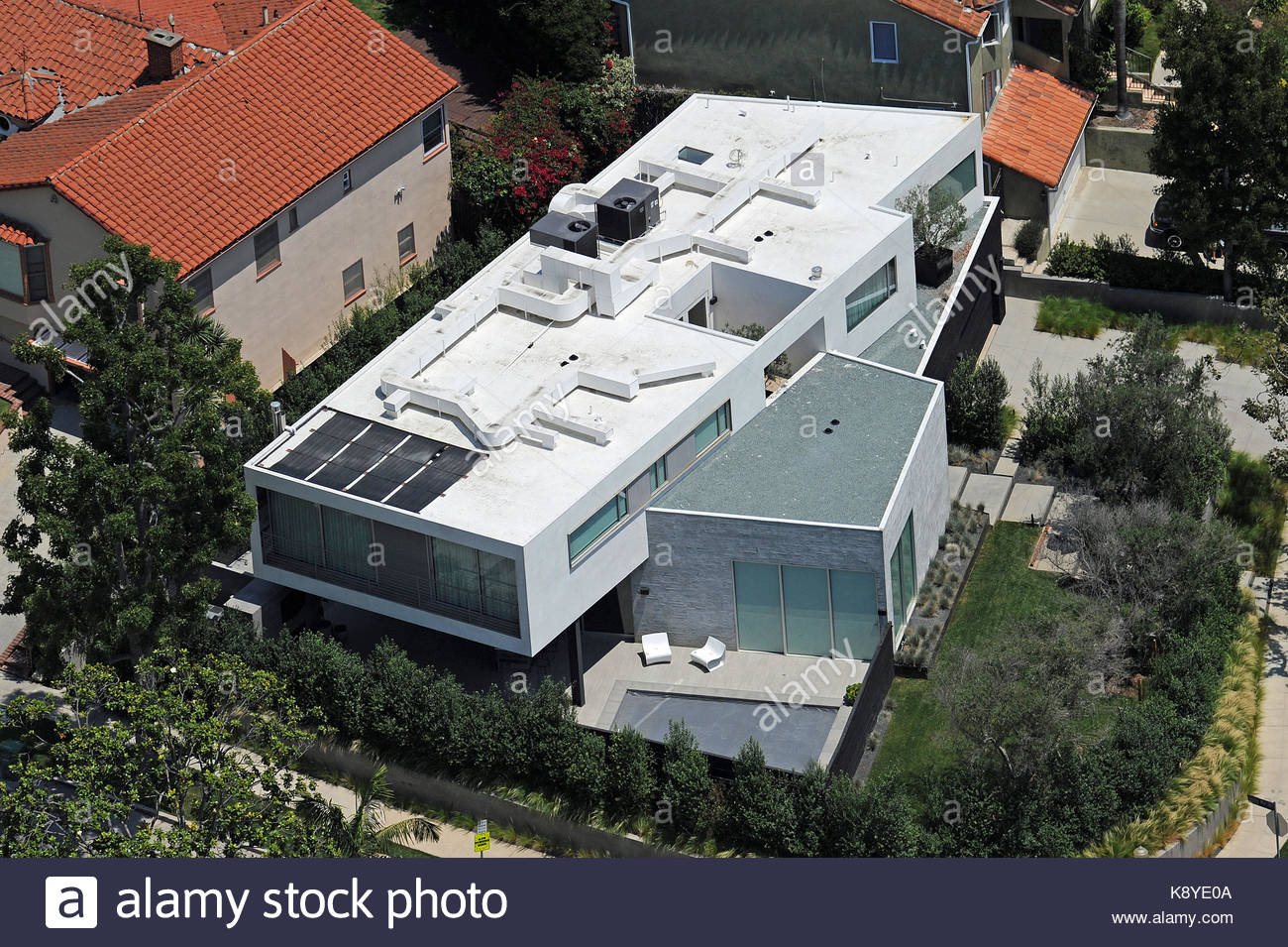 Travis Barkeru0027s New Home In Cheviot Hills, Los Angeles, California. The  Rock Star Paid $4 Million For The Four Bedroom, Four Bathroom Contemporary  Home Near ...